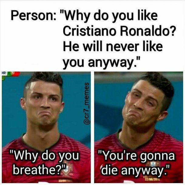 breath, cristiano, funny, jock, life, ronaldo, bestplayer, beautiful_person #soccermemes