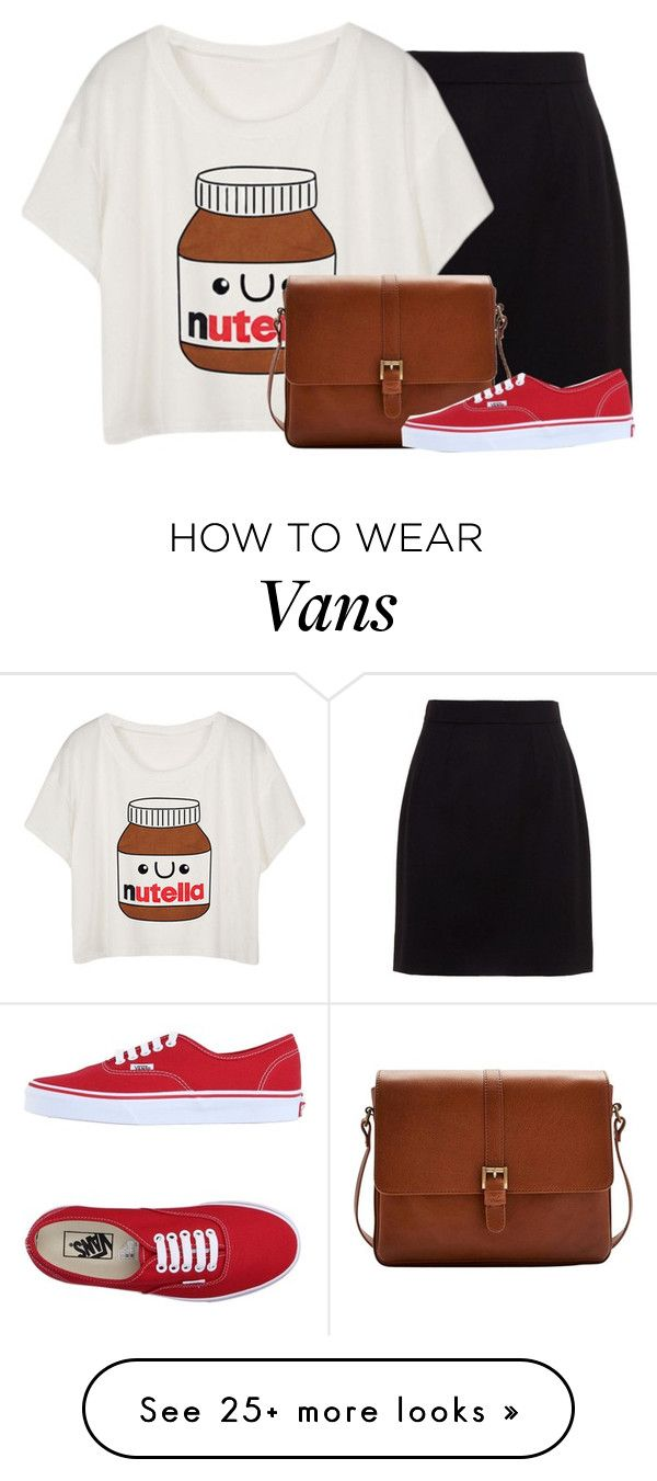 """""""Nutella Lovers Unite"""" by inspiredattire on Polyvore featuring Dolce&Gabbana, Joules and Vans"""
