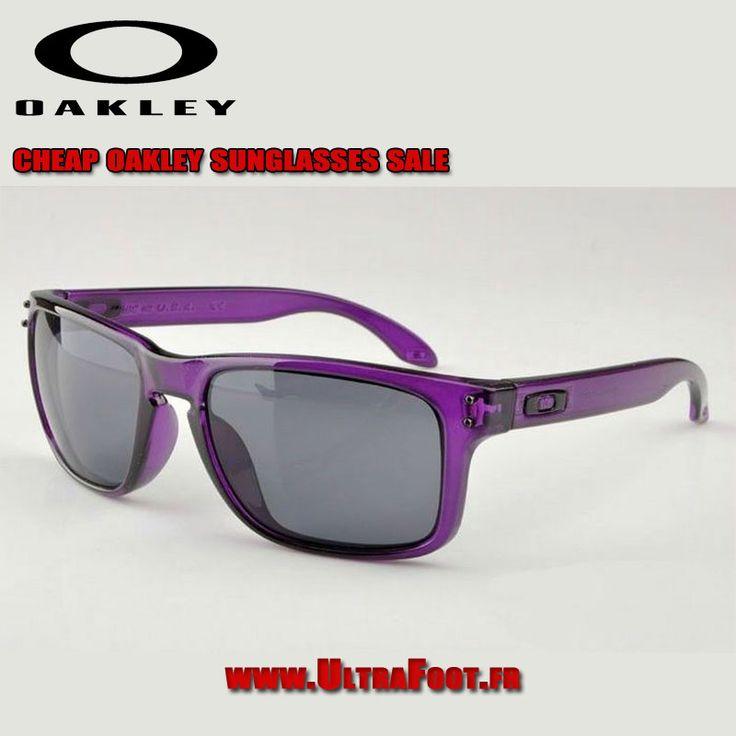 Oakley Holbrook Lunettes de soleil Crystal Violet Frame Gris Lens ultrafoot oakleys 7226