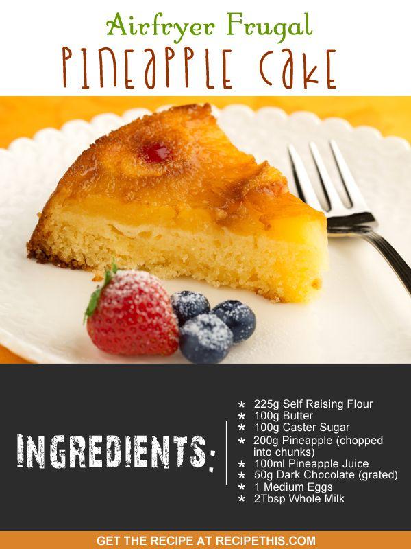 Nuwave Brio Cake Recipe