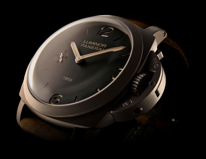 My Panerai Luminor 1950; 3-days; 47mm-timepiece.  It's beauty is in it's simplicity.