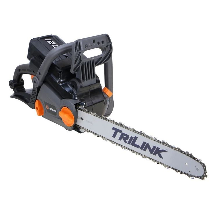 "Electric Cordless Chainsaw Chain Saw 18"" 120-V Li-Ion Brushless Motor FREE SHIP"
