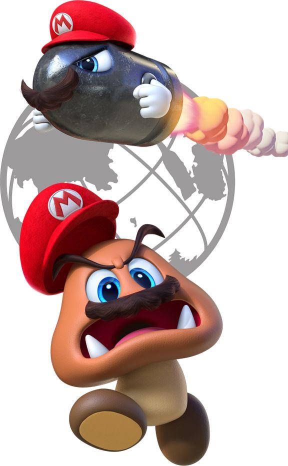 Super Mario Odyssey for Nintendo Switch - Nintendo E3 2017 - Trailer, Gameplay Images
