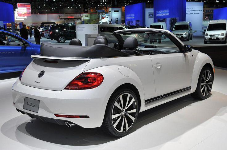 Volkswagen представил R-Line пакет для Beetle Convertible в Чикаго. После введения R-Line версии Tiguan и Touareg на 2013 NAIAS в прошлом месяце в Детройте, Beetle Cabriolet R-Line будет доступен позже в этом году, как 2014MY. Автомобиль поставляется с 19-дюймовыми легкосплавными колесами с более низкопрофильными шинами, спортивной подвеской, би-ксеноновыми фарами и шильдиком «R-Line» на передней решетке.