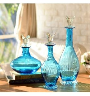 Wholesale Decorative Glass Bottles 273 Best Home  Glass Bottles Images On Pinterest  Perfume Bottle