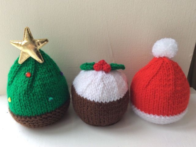 Image result for ferrero rocher knitted christmas pudding | Knitted christmas decorations ...