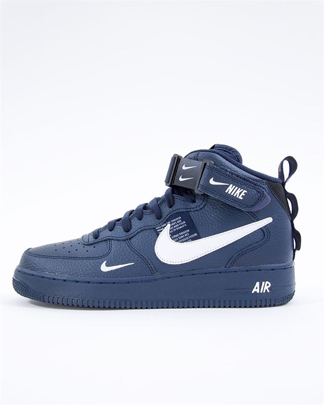 brand new cf36b eff29 Nike Air Force 1 Mid 07 LV8 Utility  804609-403  Blå  Sneakers  Skor   Footish