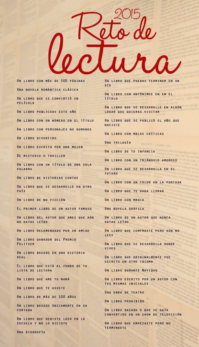 RETO DEVLECTURA 48 LIBROS EN ESTE AÑO
