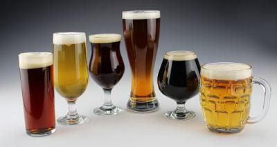 True Beer Glassware Set - Beer Tasting Glass Set