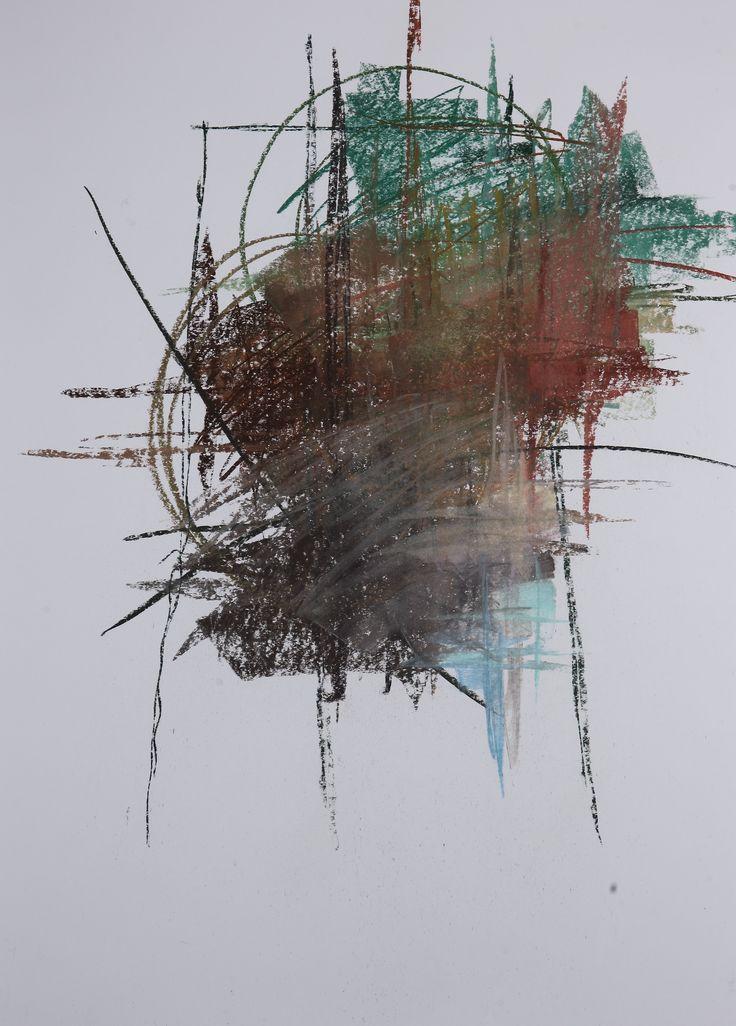 Michael Třeštík, 400 colors on 10 sheets, series II, No. 10, 2016, pastel A1