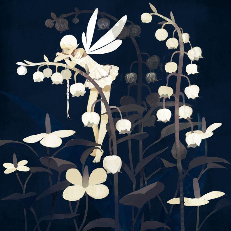 ≍ Nature's Fairy Nymphs ≍ magical elves, sprites, pixies and winged woodland faeries - djevojka
