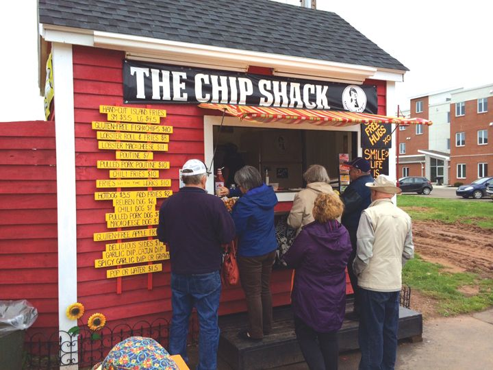 The best seaside 'Food Shack' I have ever come across, Charlottetown PEI