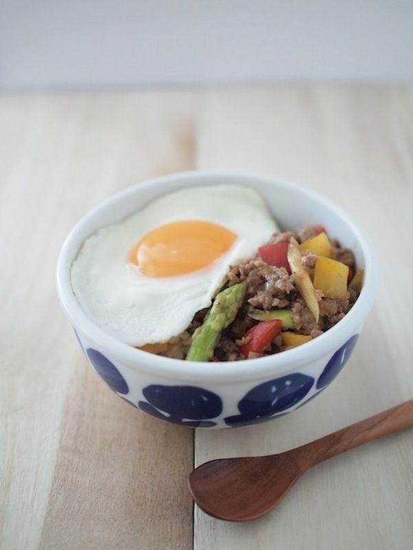 五香粉で中華風ひき肉炒めごはん by たかはしひろこ | レシピサイト ...