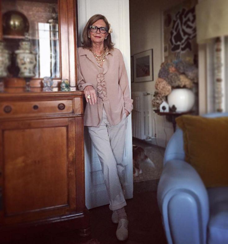 Стиль без возраста: Instagram Роселлы Джардини - BESTIN.UA