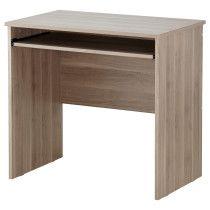 Стол для компьютера ТОДАЛЕН серо-коричневый артикуль № 602.560.31 в наличии. Интернет каталог IKEA Беларусь. Быстрая доставка и монтаж.