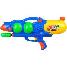 Diverse Waterpistool Blauw/Geel|waterpistolen|waterpret|buitenspeelgoed|speelgoed - Vivolanda