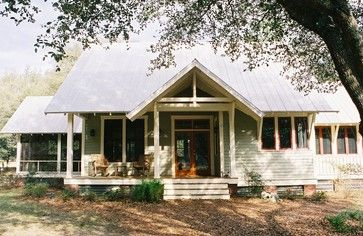 FL Cracker Style House traditional-exterior