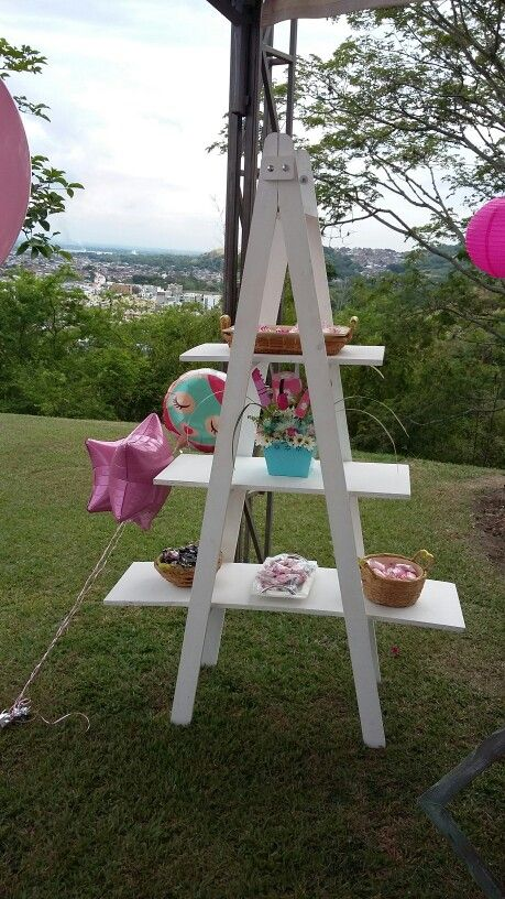 Escalera de dulces