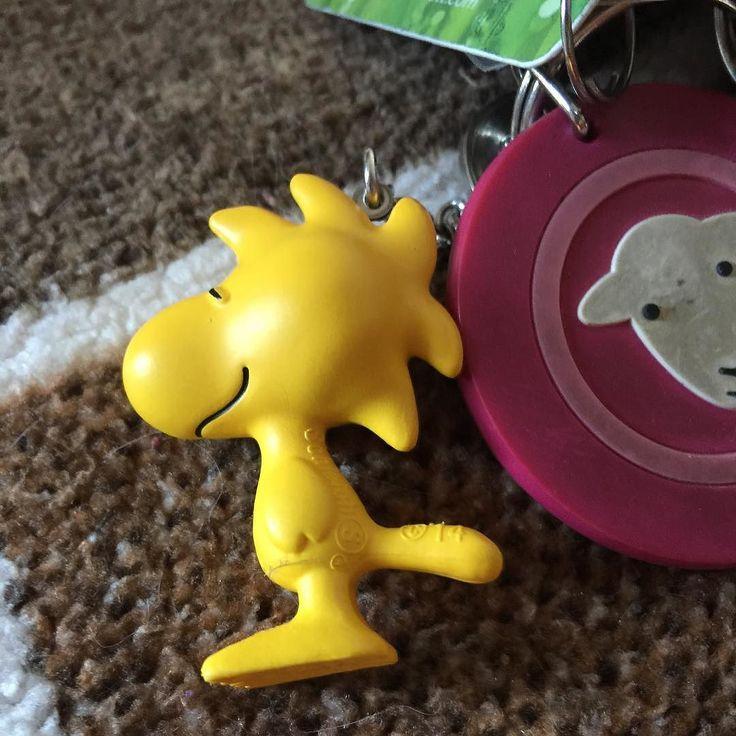 Got me #Woodstock on my key ring! #Peanuts