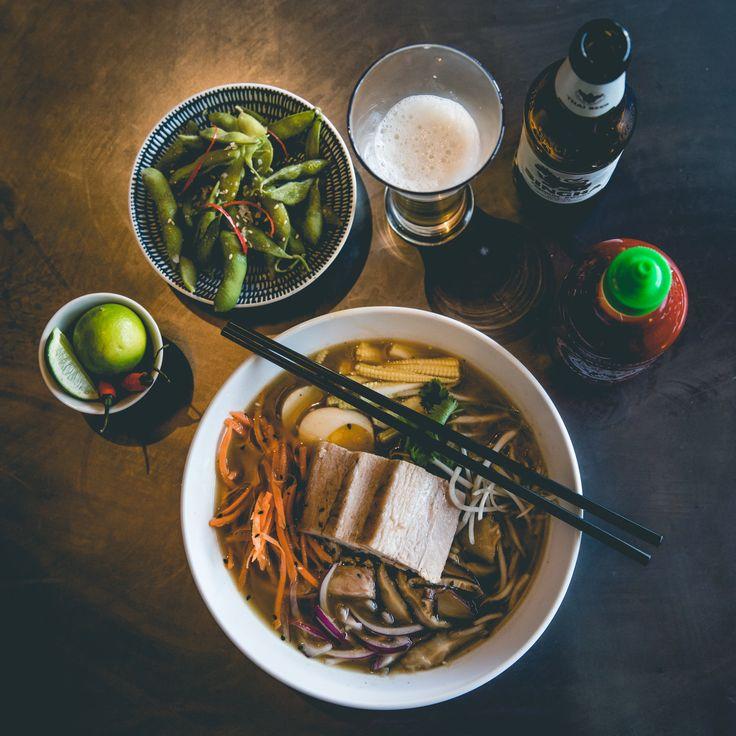 #SaigonSuzy #FoodPhotography #PorkRamen #Ramen #EdamameBeans #FoodStyling
