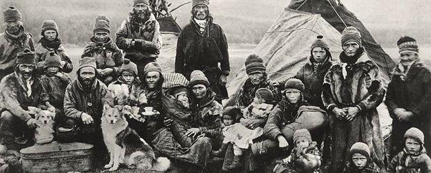 Les Samis de Laponie   Carte postale de Suède samis