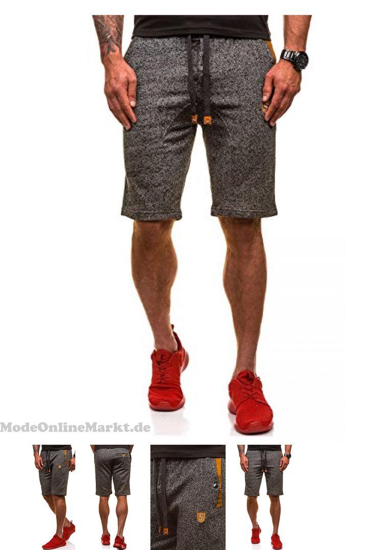 | #BOLF #Herren #Shorts #Sporthose #Kurze #Hose #Pand#038;L #FASHION #121A #Schwarz #M #[7G7]