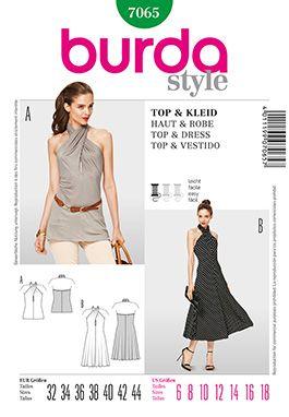 Simplicity Creative Group - Burda Style Top & Dress