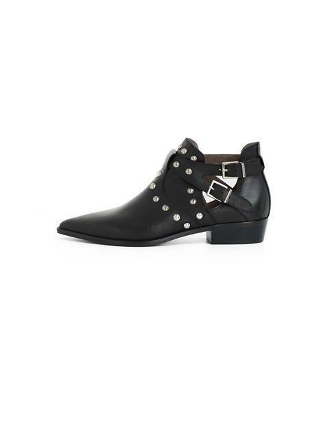 Boots noires femme