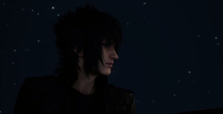 "Noctis Lucis Caelum in the newest Final Fantasy 15 trailer released at TGS 2014. I just about cried when I saw Square Enix had released something new after a year of ""just wait a little longer."" I've been waiting for this game since it was Final Fantasy Versus 13, and this got me just as excited for it as I was when I saw the first trailer way back in 2006. Now hurry up and finish the game Square!"