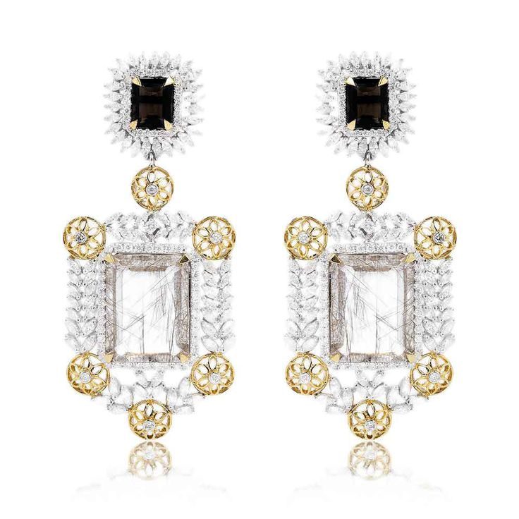 Malkish Jewels - available on Joolz! Gorgeous chandelier earrings.