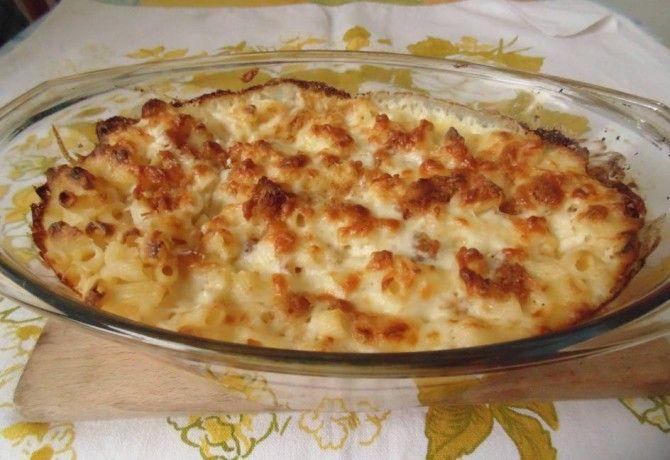Krémes, sajtos tészta