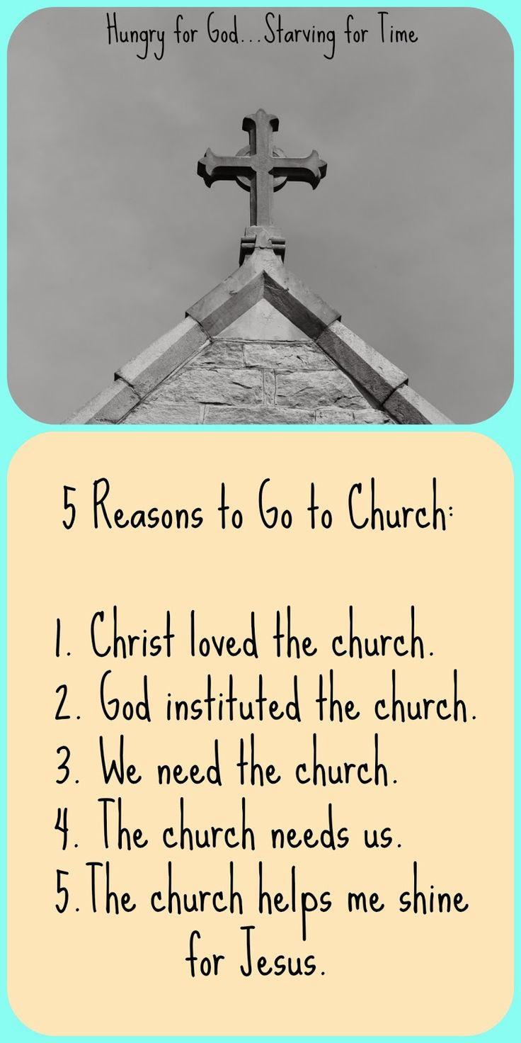 Many of us are disillusioned with the church why should i go
