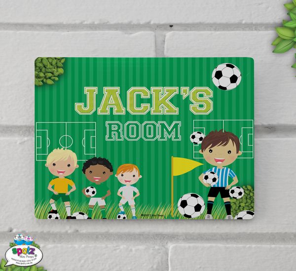 Featuring your Mini Peeps Name our SPATZ Mini Peeps® Personalised Kids Bedroom Door Plaque Signs are the ultimate in room decor and the perfect addition to any Mini Peeps Door or Wall. Do you have two or three children who share a room? Thats cool too. We can print multiple names on the one sign. Our Signs can be either shadow mounted (mount included) which means that they will stand out from your door or wall slightly, or can they directly adhered to your wall or door. SIZE: 25cm x 20cm…
