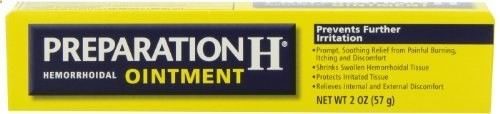 Preparation H Hemorrhoidal Ointment, 2-Ounce - for prolapsed vent - just in case