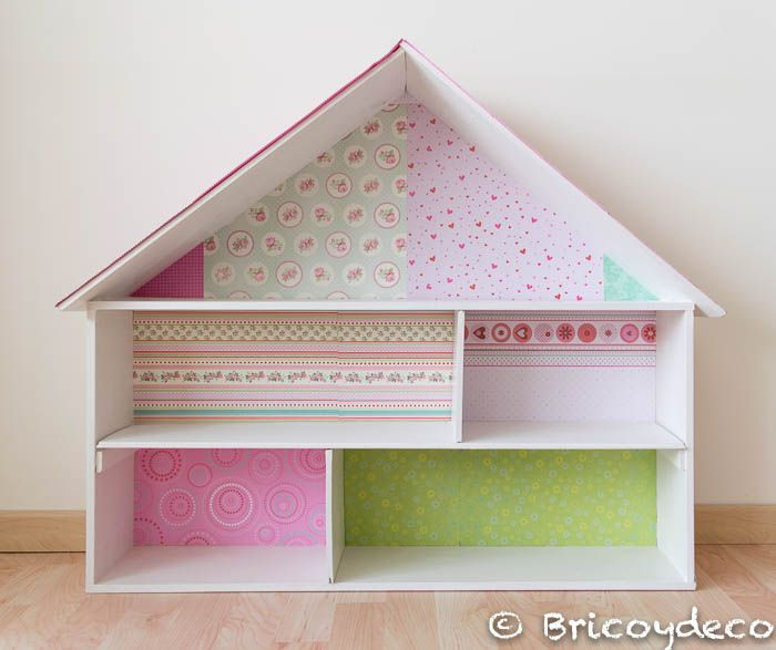 M s de 1000 ideas sobre casa mu ecas madera en pinterest for Como decorar una casa de madera