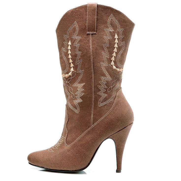 Cowgirl (Brown) Adult Boots