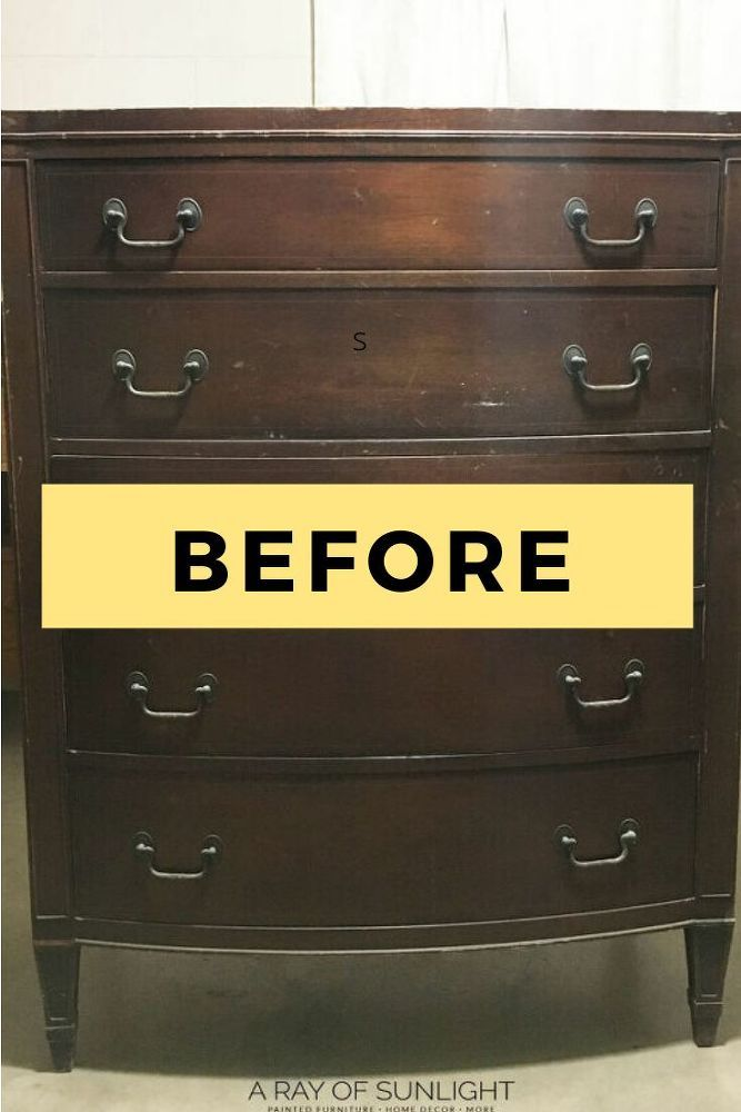 DIY Girl Bedroom Decor Dresser Makeover Idea in 2020 | Diy