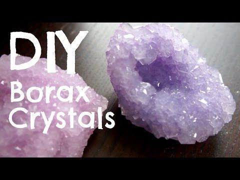 How to Make Borax Crystals - YouTube cool party gift maybe ?