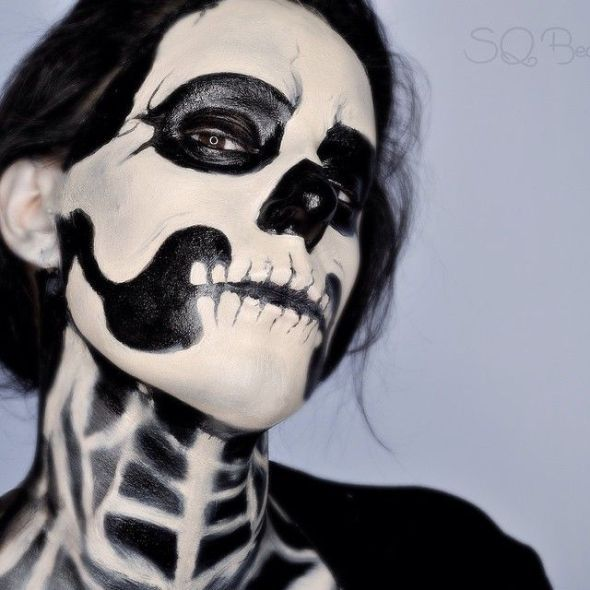 1000 ideen zu skelett make up auf pinterest totenkopf make up kost m make up und calavera
