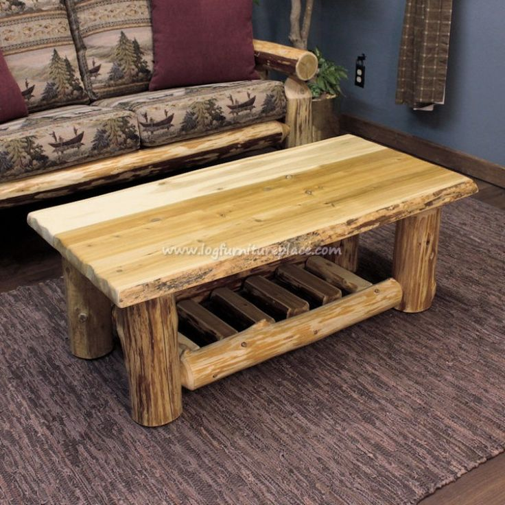 1000+ Ideas About Log Coffee Table On Pinterest
