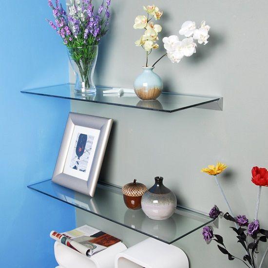 Glass Kitchen Shelves: Best 25+ Floating Glass Shelves Ideas On Pinterest