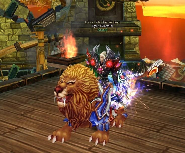 Cengiz Han 2 Vahşi Aslan. Hayvanların kralı olarak bilinen aslanlar oldukça güçlüdürler ve sahiplerinin gücüne güç katmaya her zaman için hazırdırlar. #game #oyun #ch2 #cengizhan2 #mmorpg