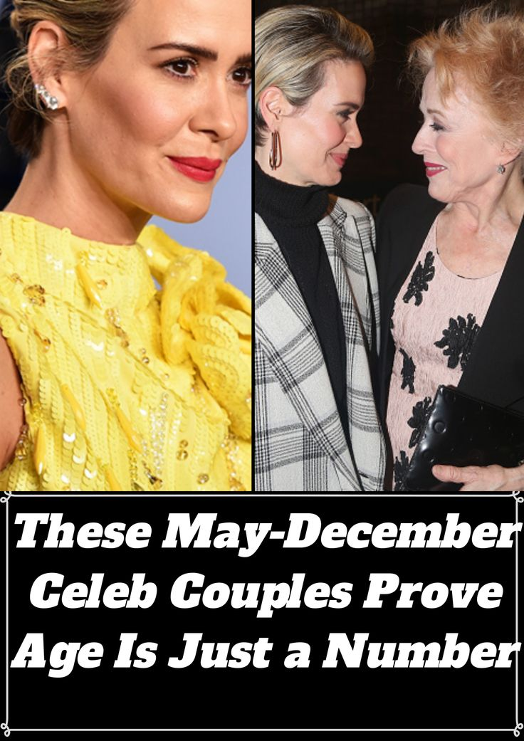These May-December Celeb Couples Prove Age Is Just a Number