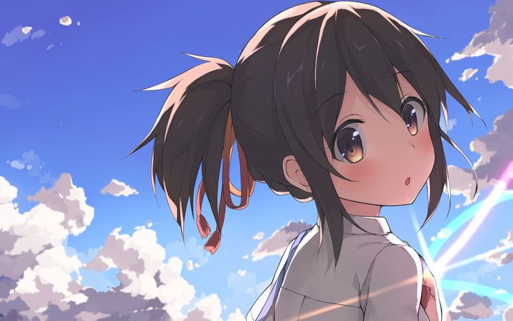Wallpapers, Anime, Your Name. - 1920x1080