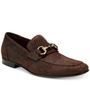 Tallia Men's Patrizio Bit Loafers - Brown 11.5M