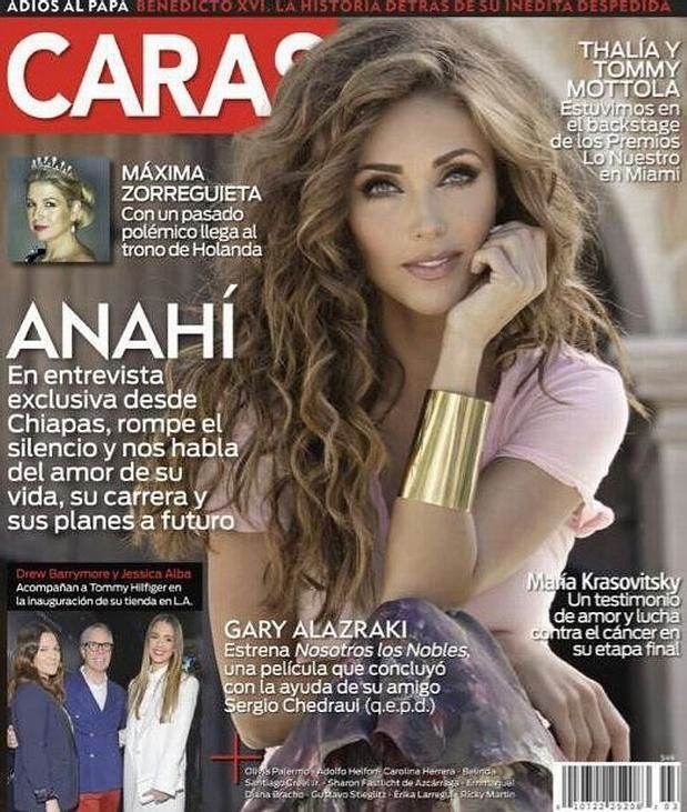 regram @anymaniacco Portada de la revista CARAS México 2014  #Anahi #MiaColucci #RBD #diamundialrbd #inesperado  #PJ #Rumba #BoomCha #Eres #AmnesiaVideo  #Amnesia #Mexicana #Latina #Pop #PopLatino #Billboard #Music #Cantante #Cantora #Song  #iTunes #Brasil #GooglePlay #Mixupmexico #rbdmaniaco