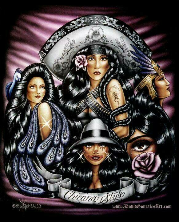 17 best images about cultura on pinterest skull art - Chicano pride images ...