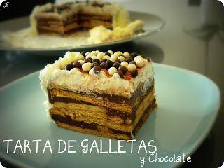 TARTA DE GALLETAS y Chocolate…