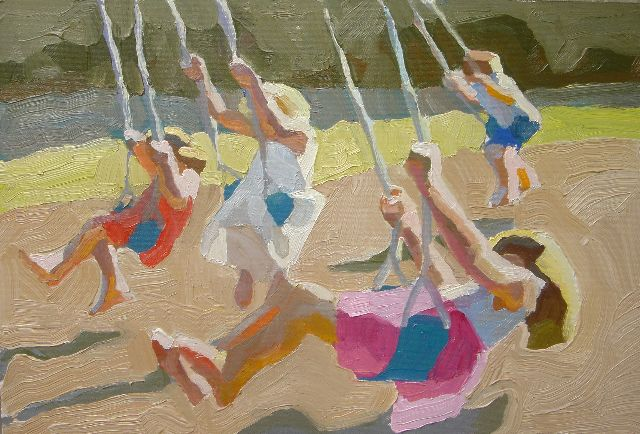 "Peggy Kroll Roberts ~ ""Swings"""