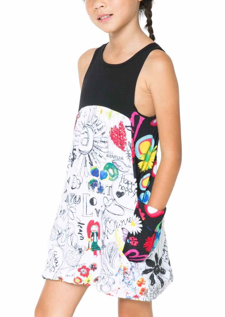 61V32F2_1000 Desigual Dress Lusaka